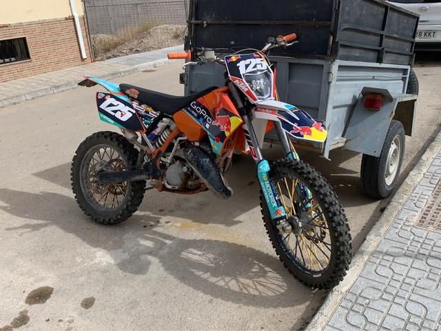 KTM - KTM 125 EXC - foto 1
