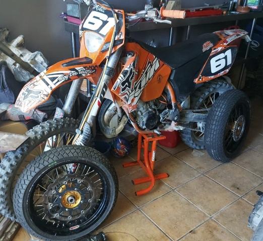 KTM - KTM 125 EXC - foto 2