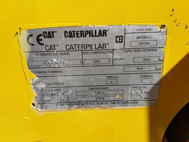 CARRETILLA CARTERPILLAS DIESEL 20 - foto 6