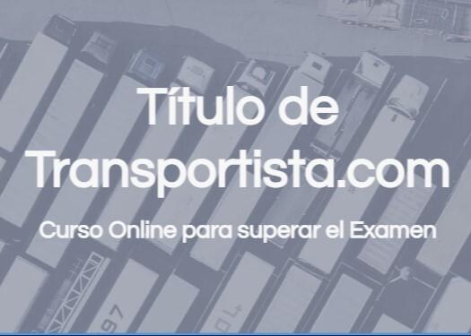TITULO DE TRANSPORTISTA - CURSO - foto 1