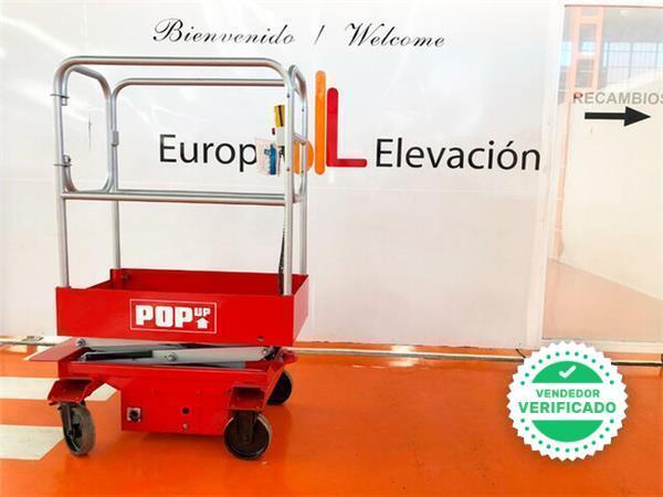 PLATAFORMA ELEVADORA POP UP 1. 650 MM - foto 2