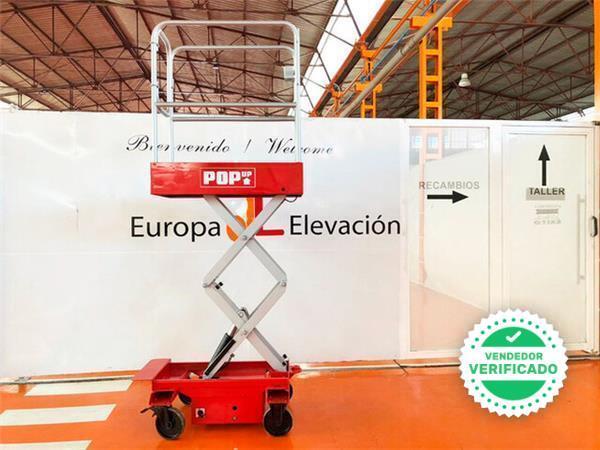 PLATAFORMA ELEVADORA POP UP 1. 650 MM - foto 3