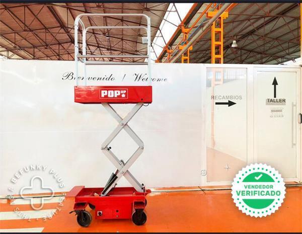 PLATAFORMA ELEVADORA POP UP 1. 650 MM - foto 5