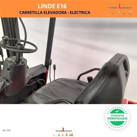 LINDE E16 - BATERÍA NUEVA - TRÍPLEX - foto 4