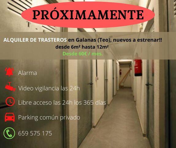 ALQUILER DE TRASTEROS EN GALANAS (TEO) - foto 1