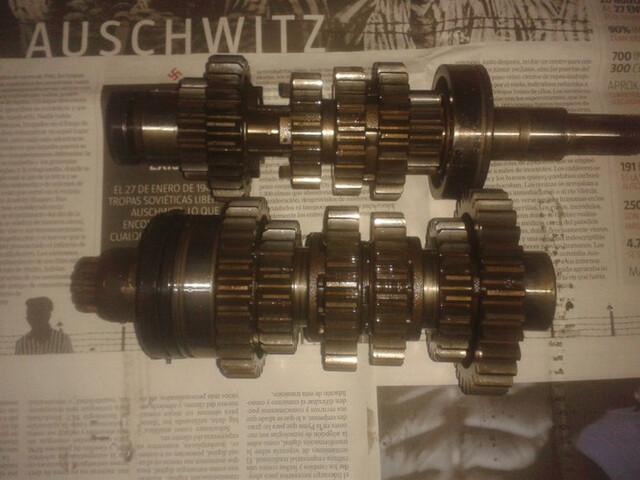 CAMBIO COMPLETO SUZUKI GS500E - foto 1