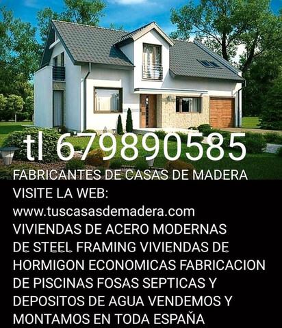 CASAS DE MADERA TRASTEROS PISCINAS - foto 1