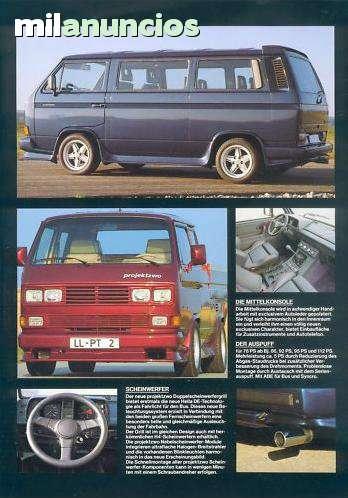 KIT PARACHOQUES MOLDURAS VW T3 Y SYNCRO - foto 6