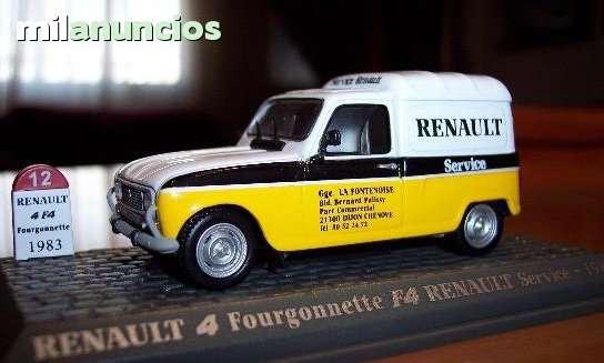 Renault 4 Furgoneta Servicio Renault Esc