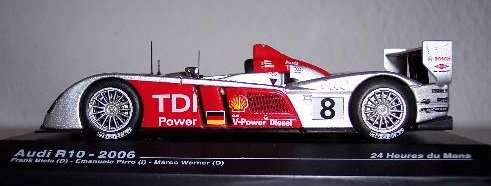 Audi R10 2006 24 Horas De Lemans Escala