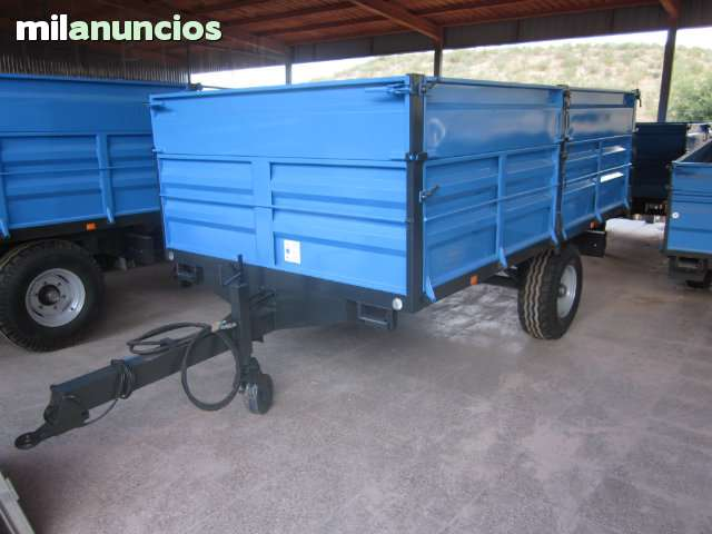 REMOLQUE AGRICOLA DE 6000 KG NUEVO - foto 1