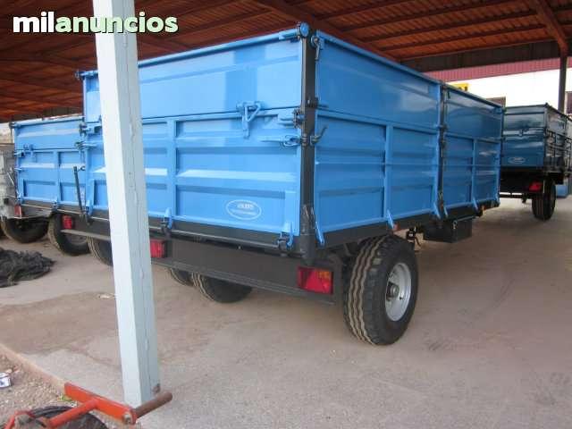 REMOLQUE AGRICOLA DE 6000 KG NUEVO - foto 2