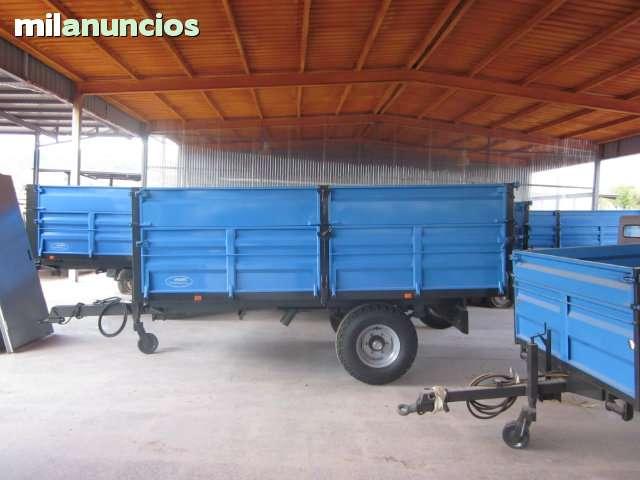 REMOLQUE AGRICOLA DE 6000 KG NUEVO - foto 3