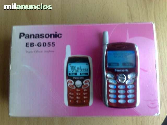 3d288fe80f0 MIL ANUNCIOS.COM - Panasonic Gd55 rojo libre en caja