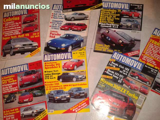 Vendo  Revistas De Automovil