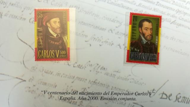 Colección Completa Sellos De Carlos I
