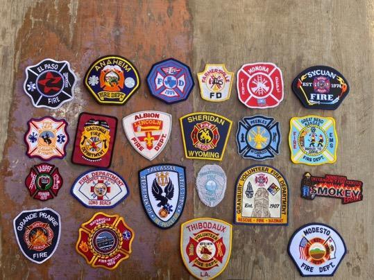 Parches Policia-Bomberos-Sheriff