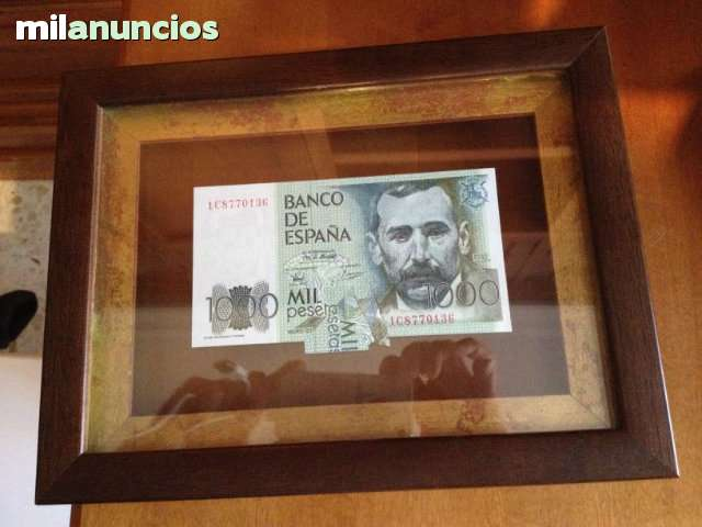 Billete De 1000 Pesetas Con Defecto