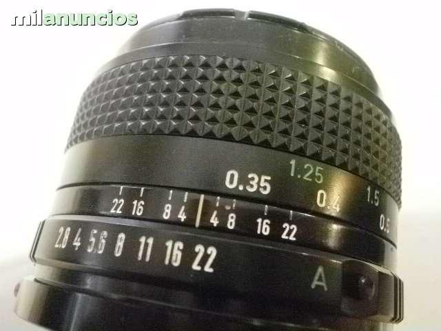 ANGULAR CANON FD - 35M. M. 2. 8 - foto 3