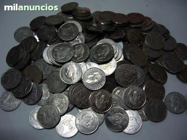Lote De 227 Monedas De 2 Pesetas