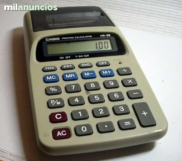 Calculadora Casio Hr8B.