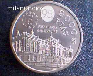 Moneda De 2000 Pesetas De Plata De 1995
