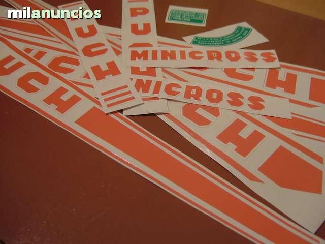 ADHESIVOS PUCH MINICROSS SUPER III - foto 1