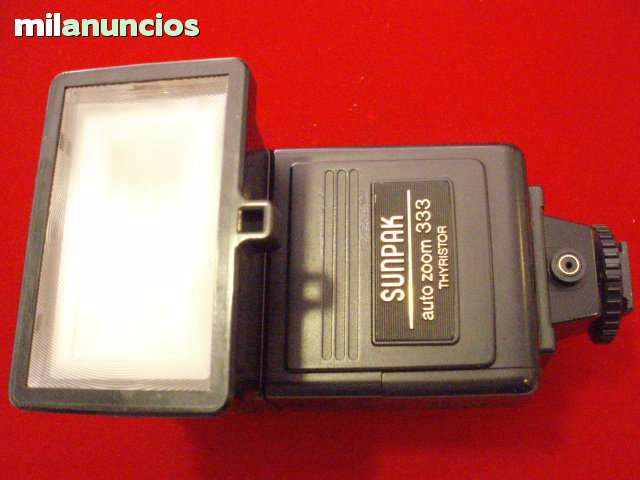 PANASONIC SUNPAK - FLASHES ELECTRONICOS - foto 4