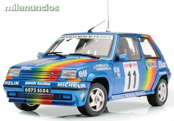 Renault Gt Turbo Rallye Montecarlo 1990