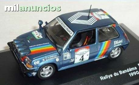 Renault 5 Gt Turbo Rallye Du Bandama 199