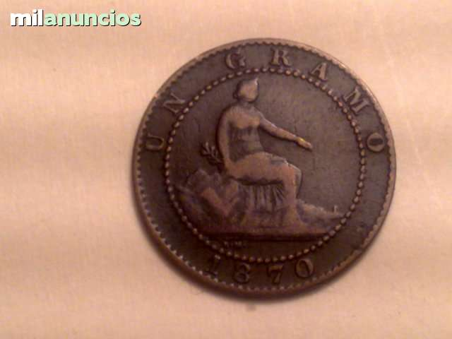 1 Centimo Del 1870
