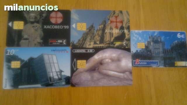 TARJETAS TELEFONICAS Y DE RECARGAS - foto 3