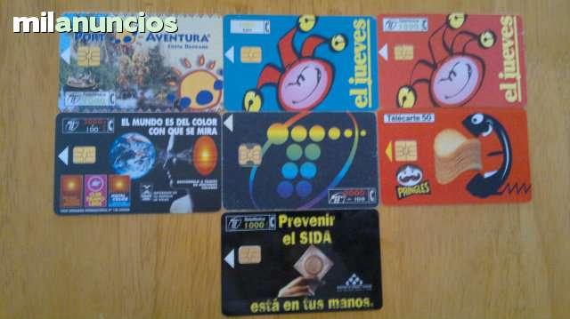 TARJETAS TELEFONICAS Y DE RECARGAS - foto 5