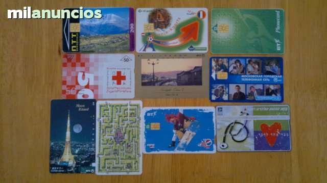 TARJETAS TELEFONICAS Y DE RECARGAS - foto 7
