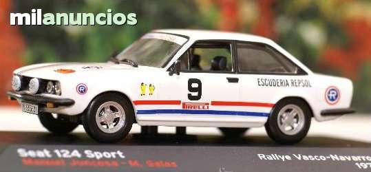 Seat 124 Sport Rallye Vasco Navarro 1971
