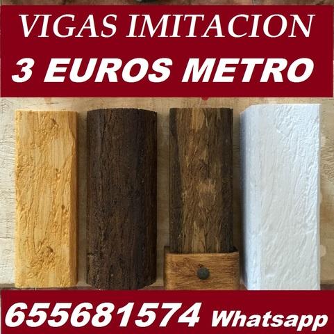 Mil anuncios com vigas rusticas imitacion madera ofertas - Vigas poliuretano baratas ...