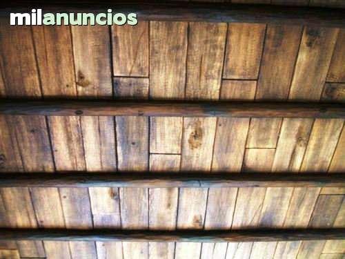 Mil anuncios com vigas imitaci n madera fabrica - Vigas falsas de madera ...