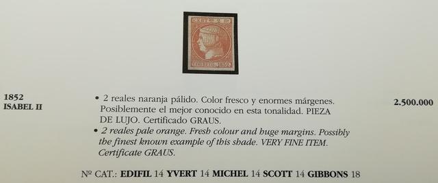 Joyas Filatelia Española