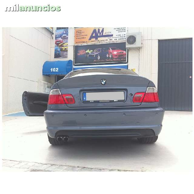 Paragolpes Bmw E46 Coupe Pack M Trasero