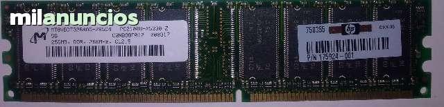 256MB RAM PC2100 Genuine 175924-001