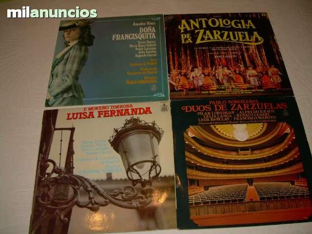 Nº 4- Lps De Vinilo Antiguos De Zarzuela