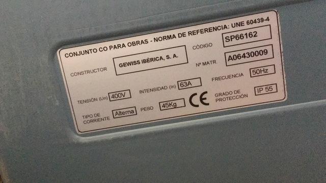 CUADRO ELECTRICO DE OBRA GEWISS IBERICA - foto 7