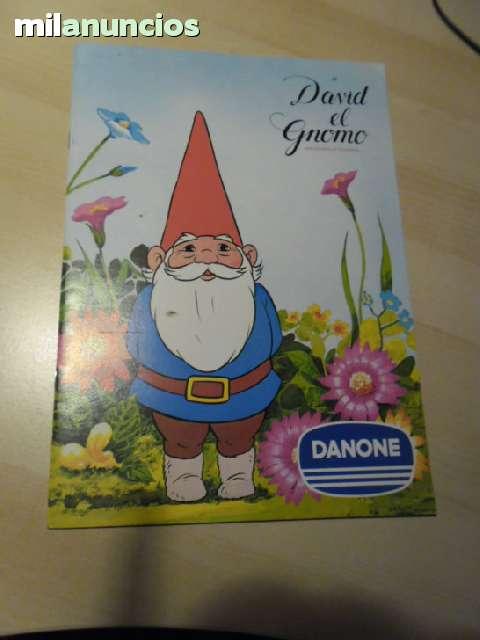 Album De Cromos De David Gnomo Danone
