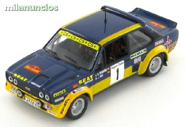 Fiat 131 Abarth Rallye Catalunya B.Ferna