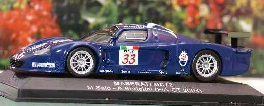 Maserati Mc12 M.Salo-A.Bertolini (Fia-Gt