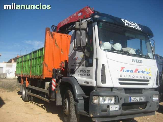 TRANSPORTES Y GRÚAS   EN VALENCIA - foto 1