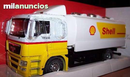 Camion Man Cisterna Escala 1:43 De Mondo