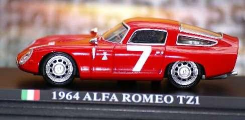 Alfa Romeo Tz1 Escala 1:43 De Del Prado