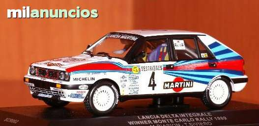 Lancia Delta Integrale Rally De Montecar