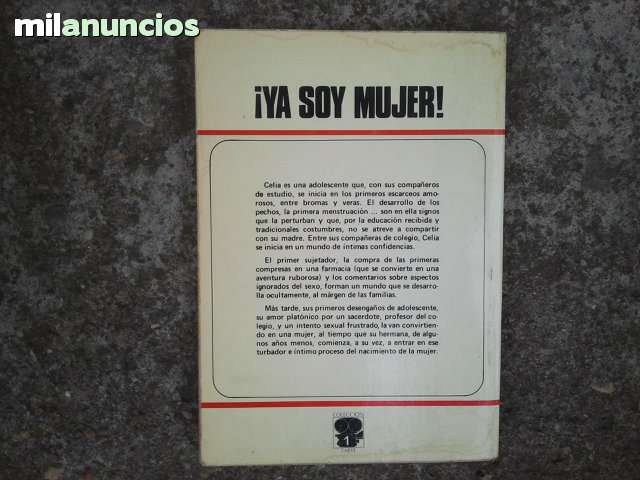 LIBRO DE LECTURA:   YA SOY MUJER - foto 2